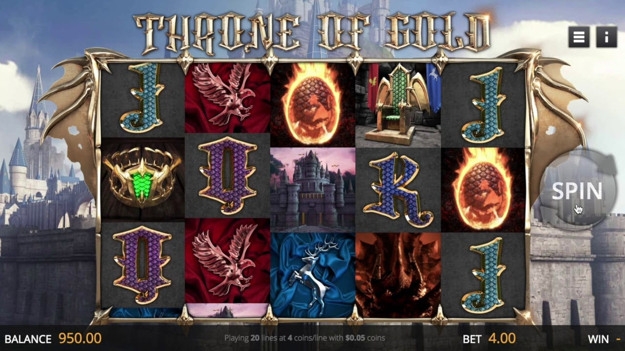 Throne of Gold Slot Game