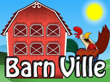 Barn Ville slots game logo