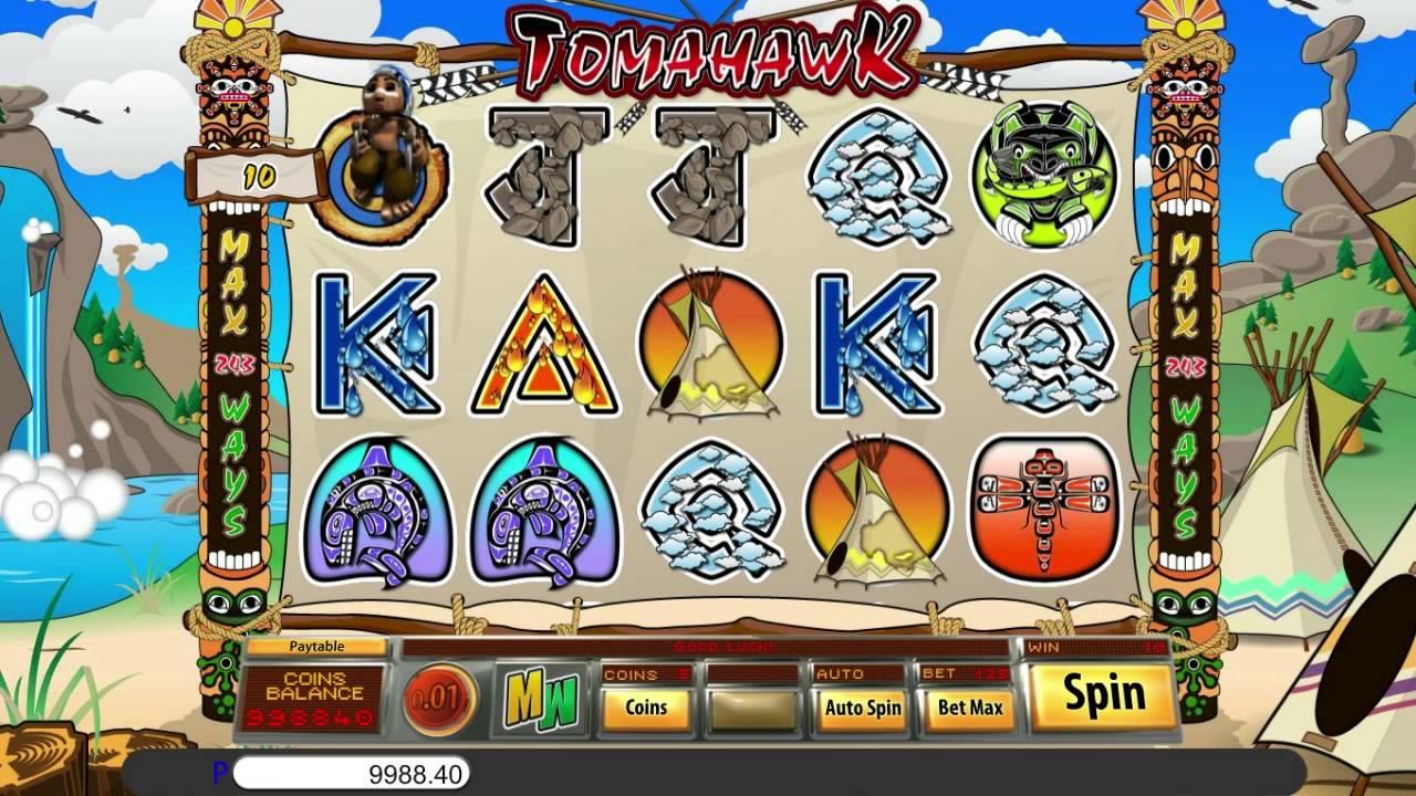 Tomahawk Slot Game