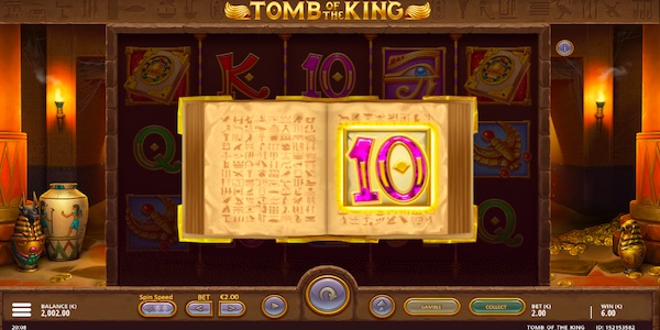 Tomb of the King Slot Symbols
