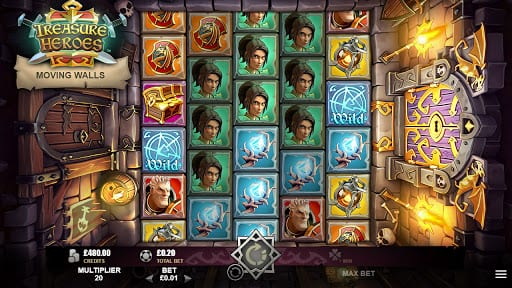 Treasure Heroes Slot Games