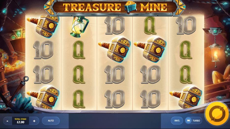 Treasure Mine Gameplay