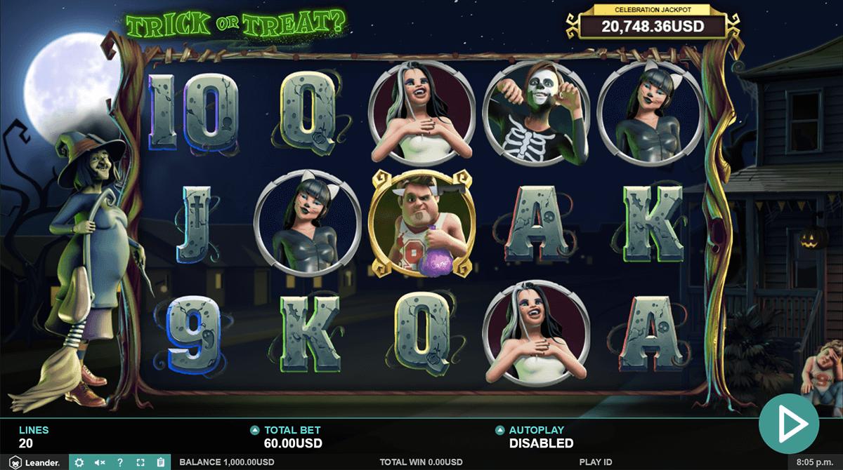 Trick or Treat Free Slots