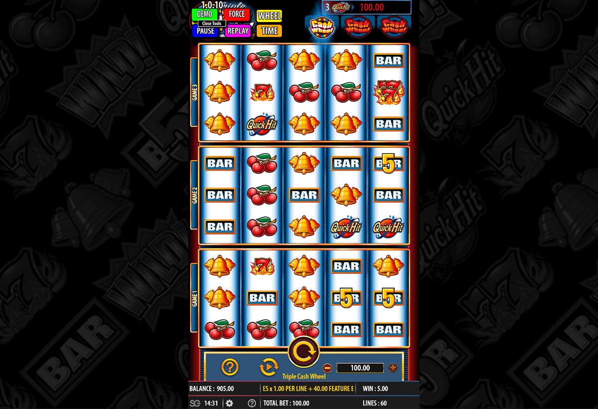 Triple Cash Wheel slots Wizard Slots