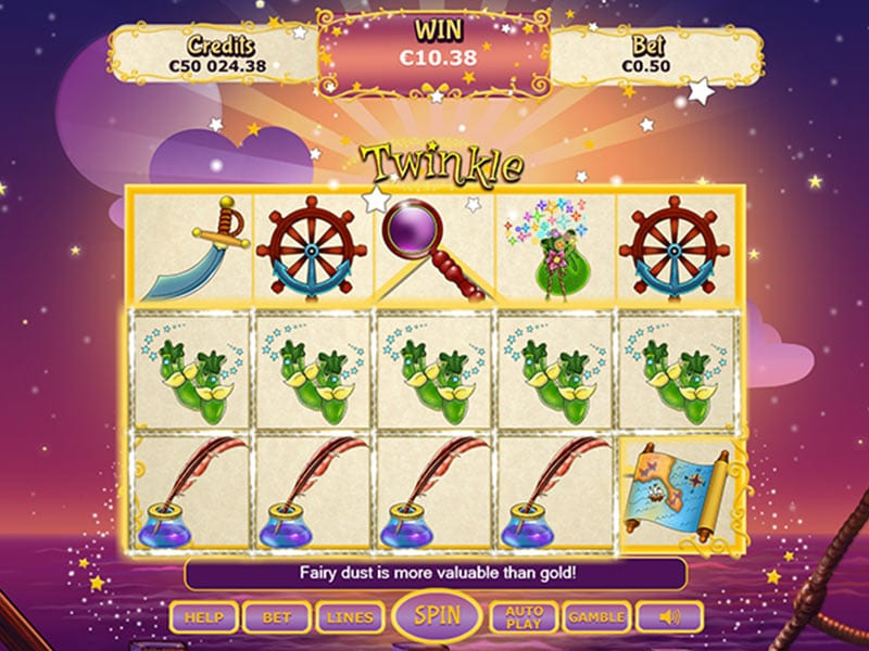 Twinkle Online slots game win