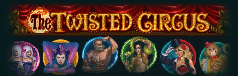 The Twisted Circus online slots game logo