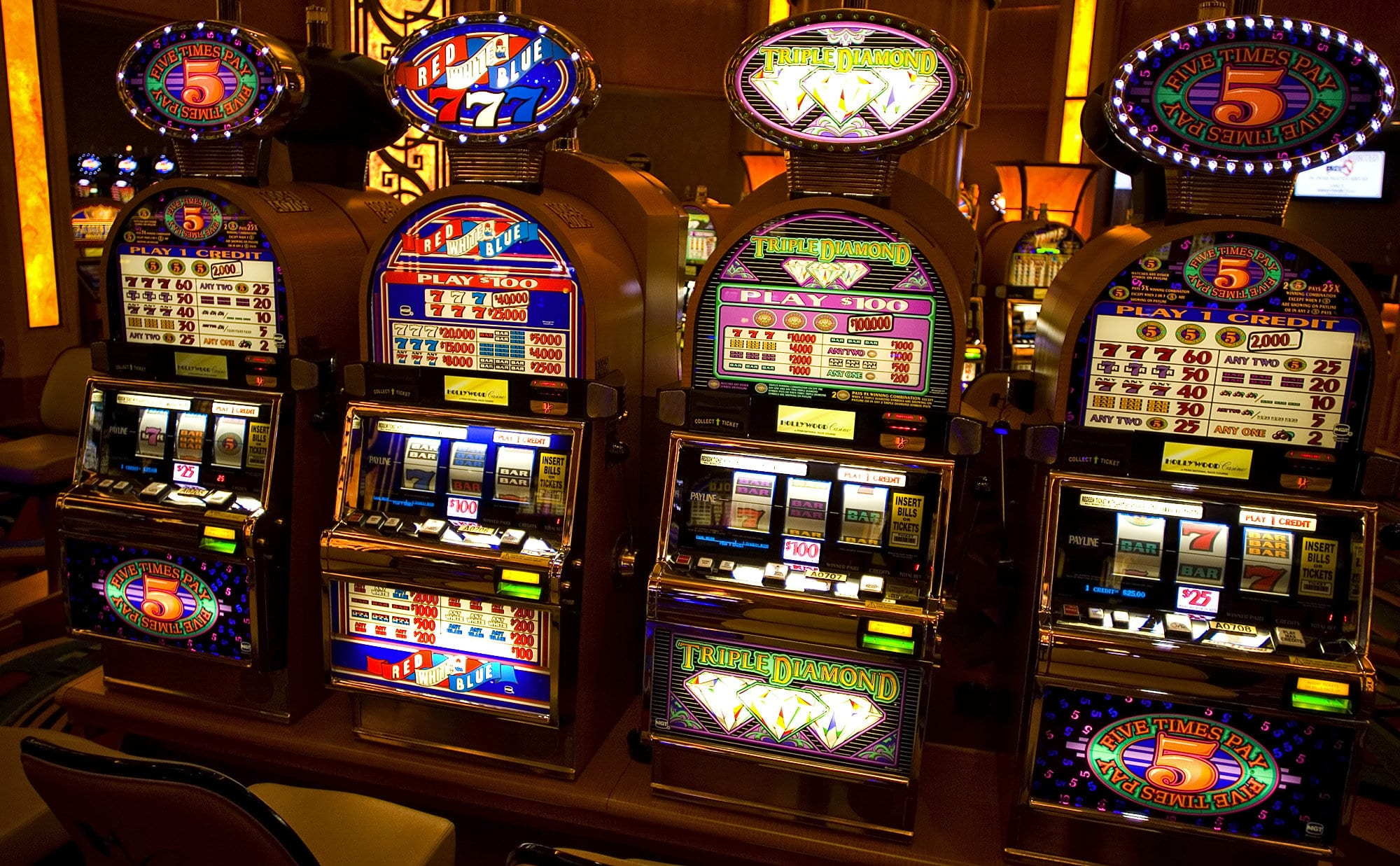 Types Of Slot Games
