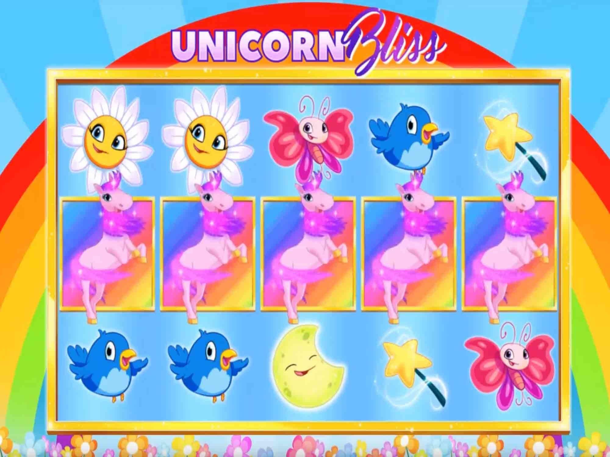 Unicorn Bliss online slots Online