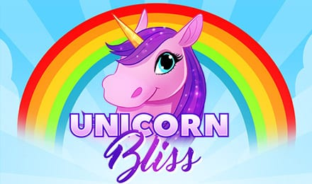 Unicorn Bliss Jackpot Slots game logo