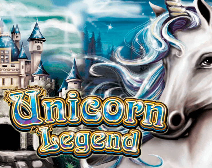 Unicorn Legend online slots game logo