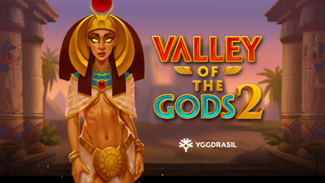 Valley of the Gods 2 Slots Logo Wizard Slots