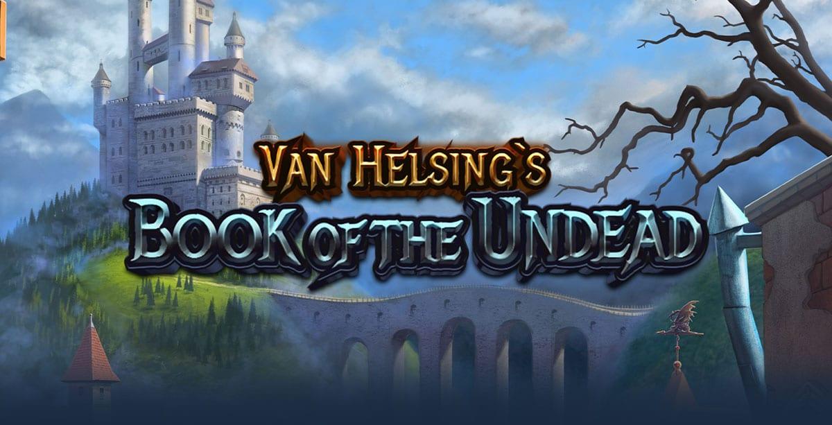 Van Helsing's Book of the Undead Slot Logo Wizard Slots