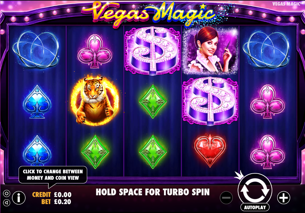 Vegas Magic Gameplay