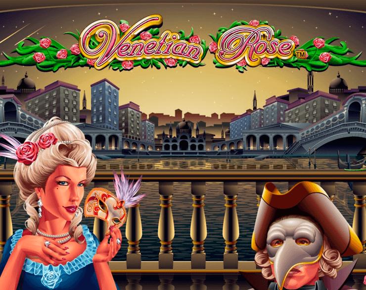 Venetian Rose online slots game logo