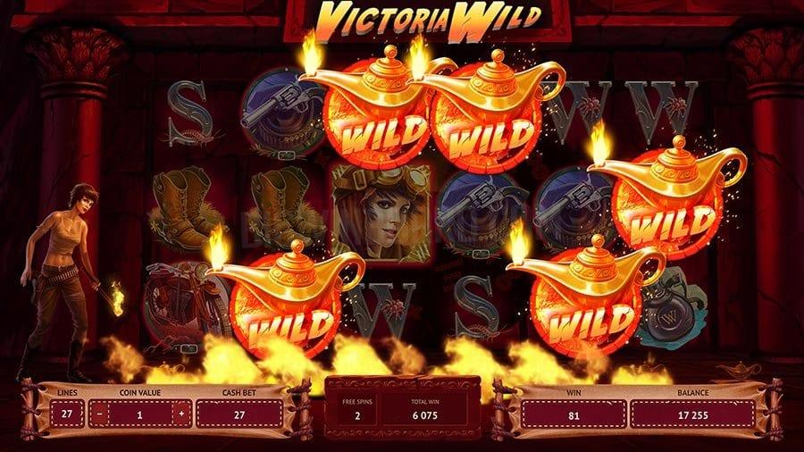 Victoria Wild Slots Wilds