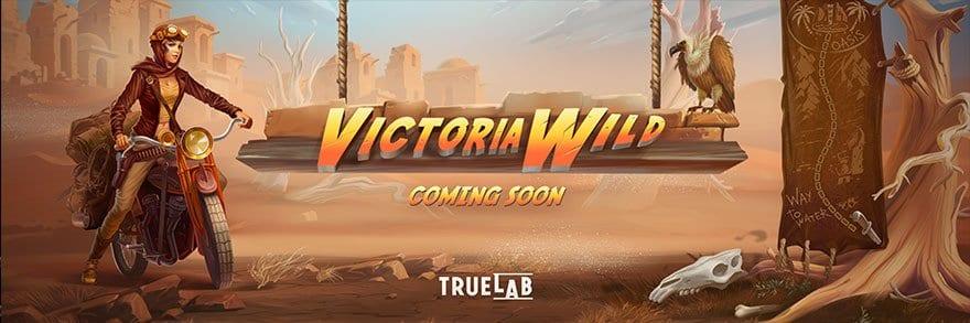 Victoria Wild Slot Logo Wizard Slots