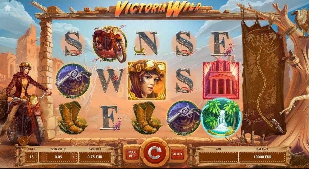 Victoria Wild Slot Gameplay