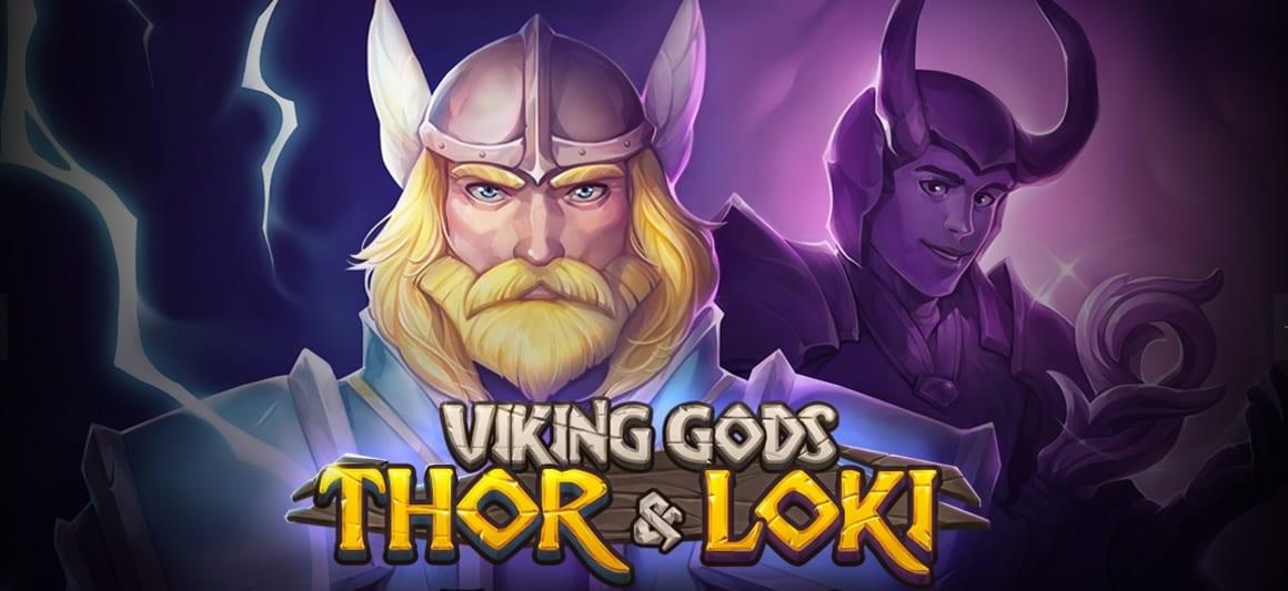 Viking Gods online slots game logo