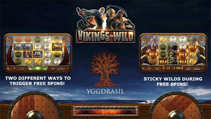 Vikings Go Wild online slots game info