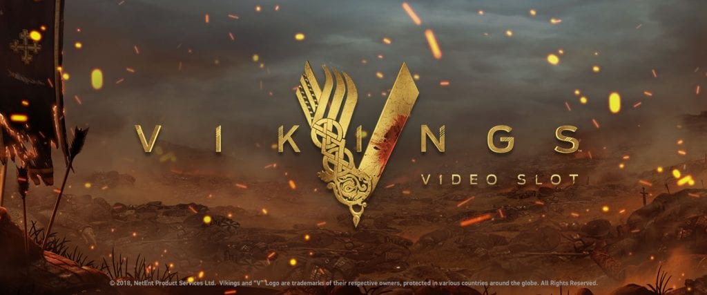 Vikings Logo Slots