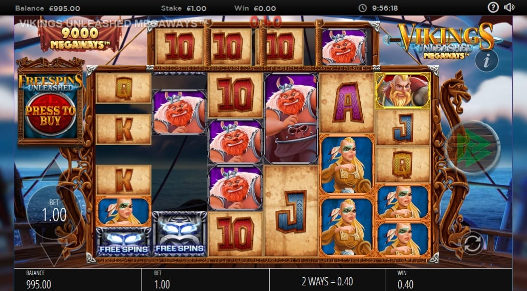 Vikings Unleashed MegaWays Slot Online