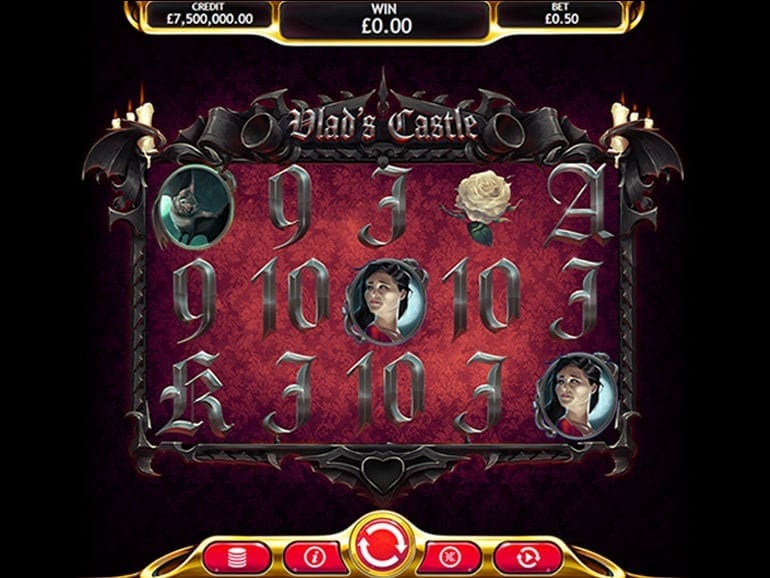 Vlad's Castle Slot Game