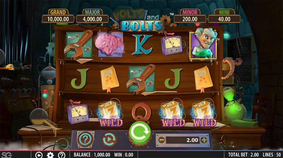 Volts and Bolts Slot Game
