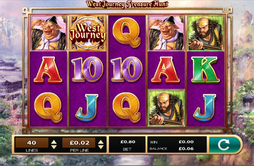 West Journey Treasure Hunt slots Game
