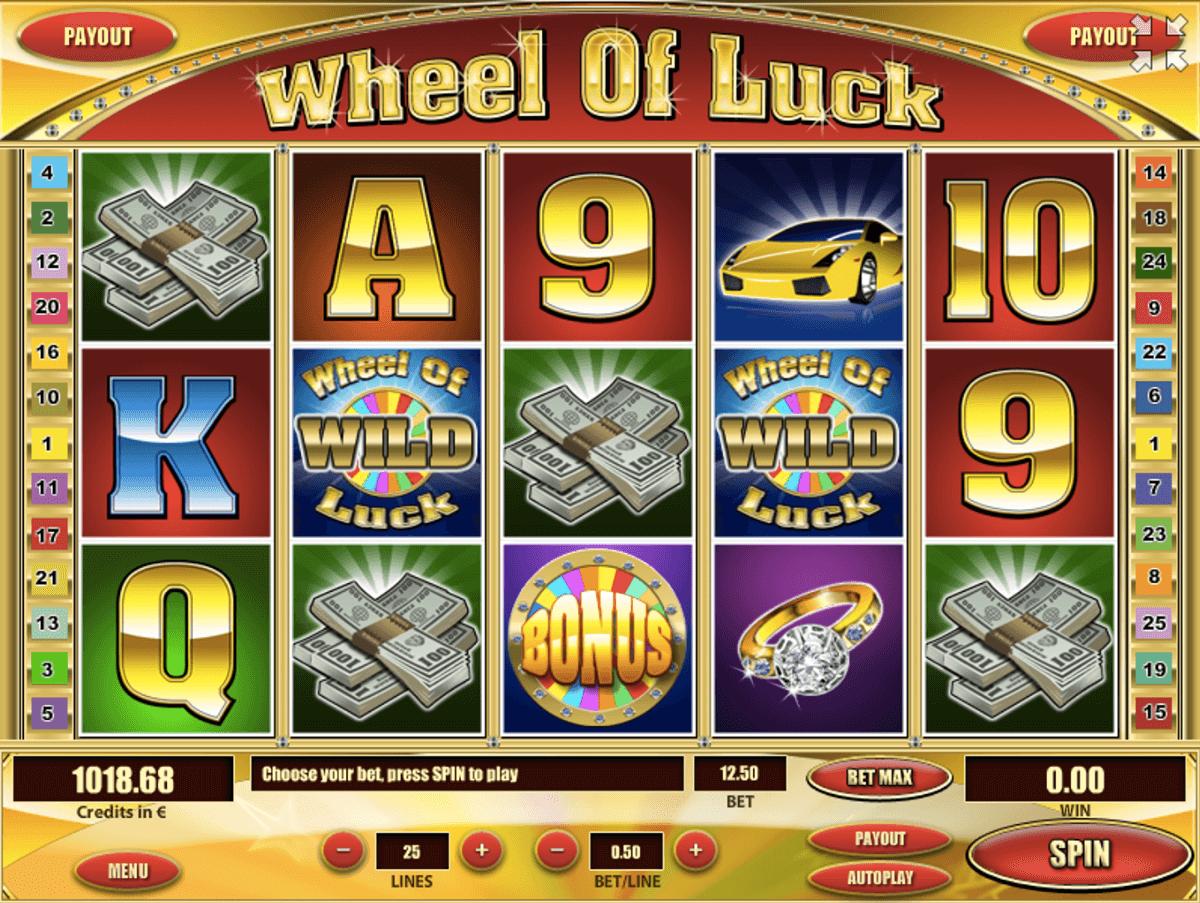 Wheel of Luck Slots Gameplay