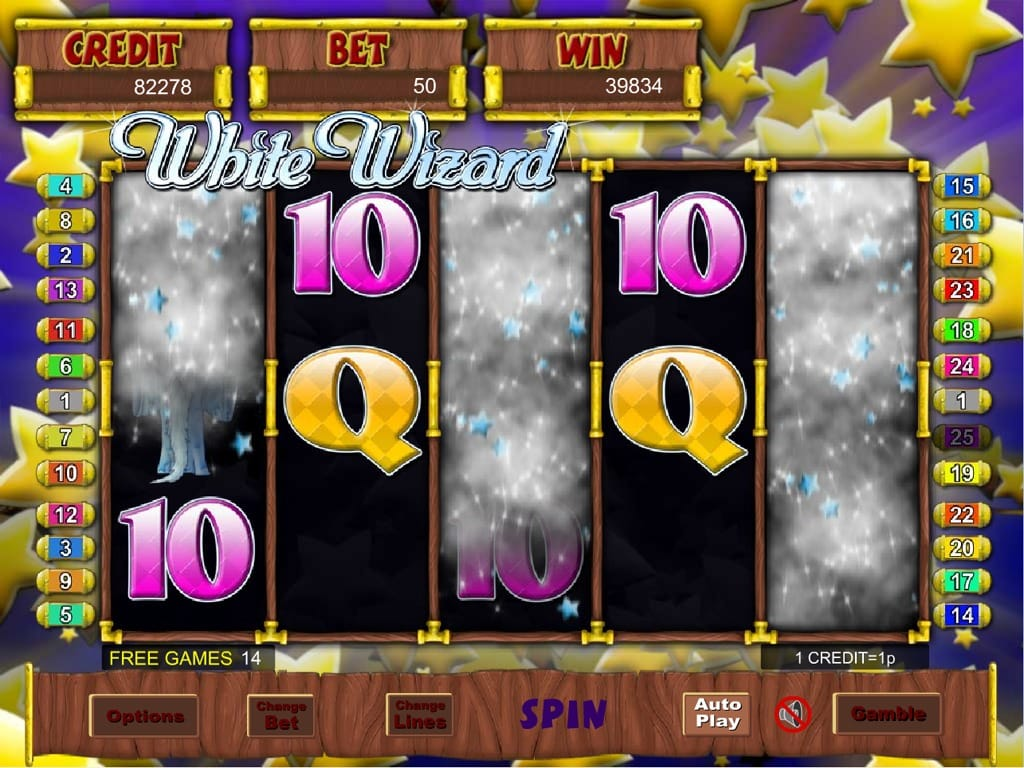 White Wizard Jackpot gameplay 2