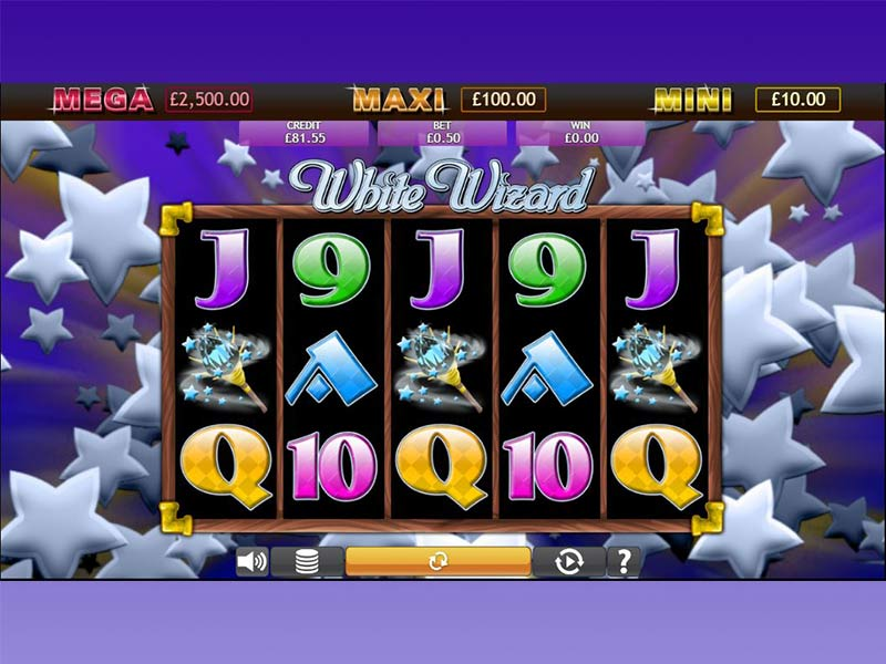 White Wizard Jackpot gameplay