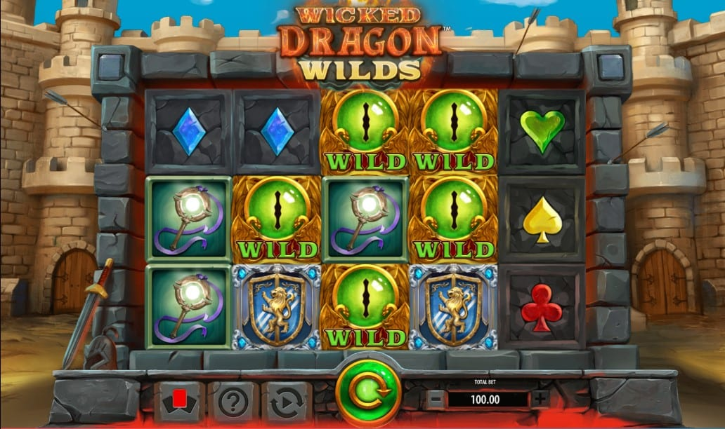 Wicked Dragon Wilds Free Slots