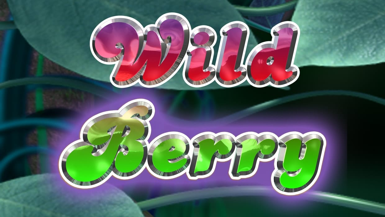 wild berry slots game logo