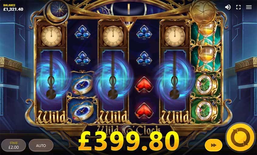 Wild O'Clock Free Slots