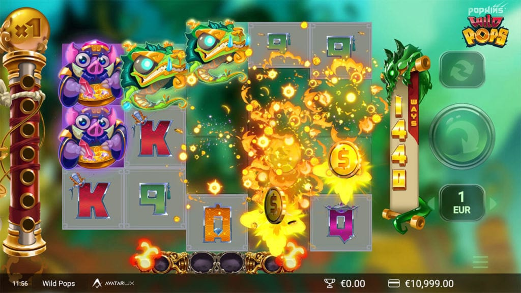 Wild Pops Slots Game