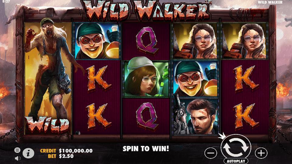 Wild Walker Slot Gameplay