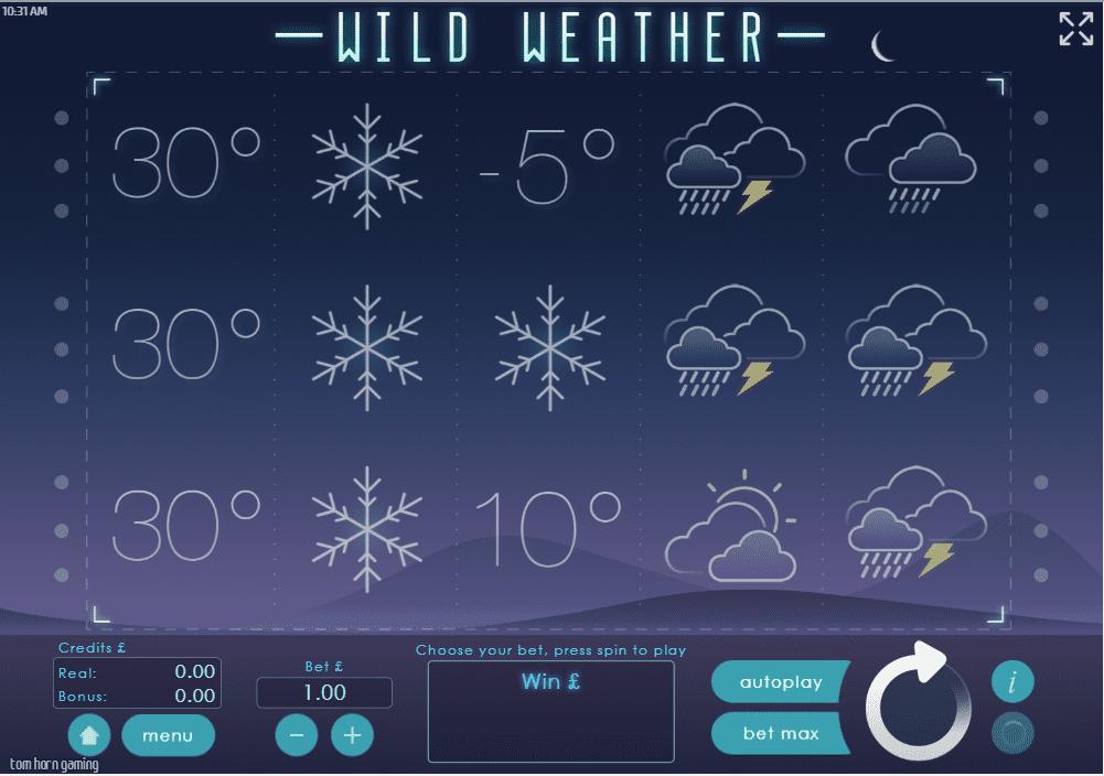 Wild Weather Gameplay