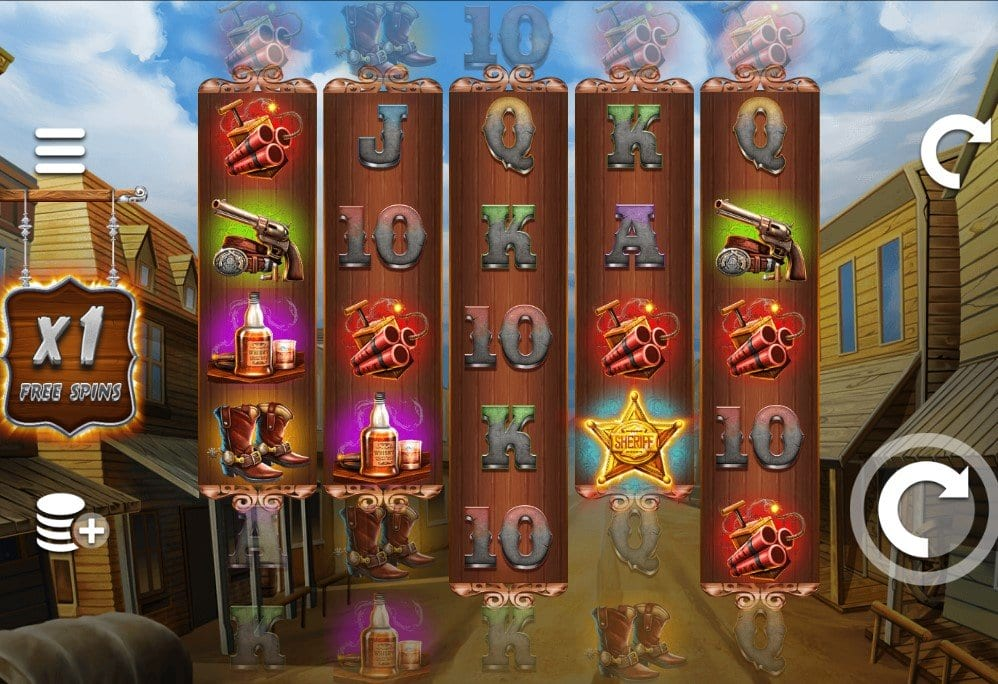 Wild West Zone Free Slots