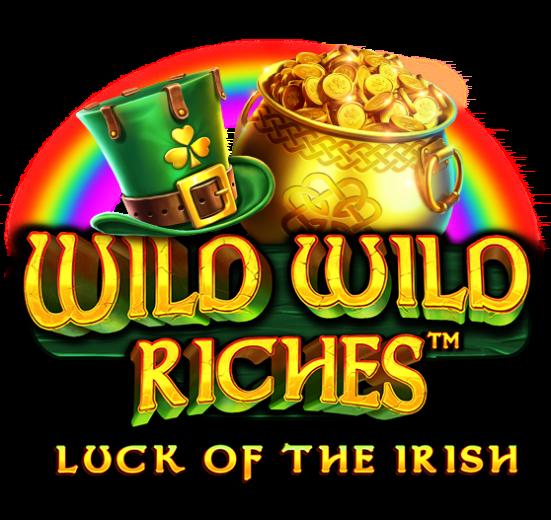 Wild Wild Riches Slot Logo Wizard Slots