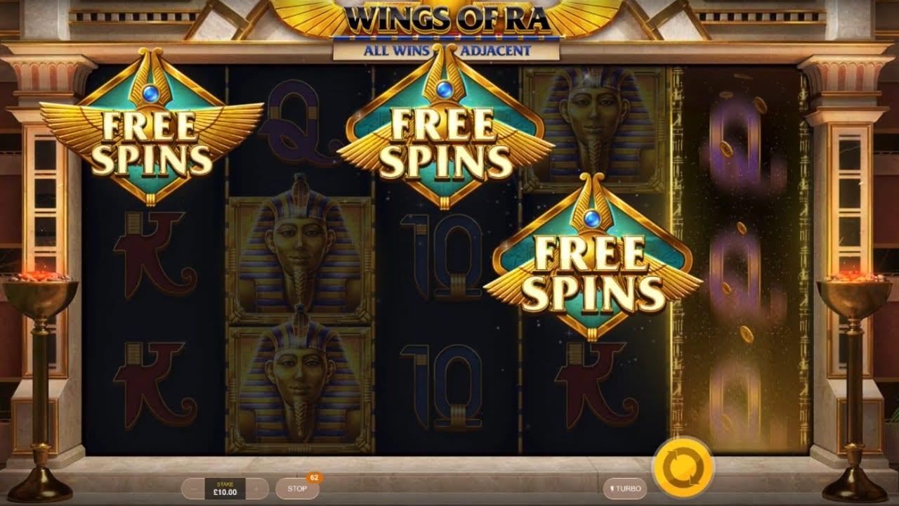 Wings of Ra Online Slots