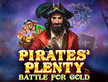 Pirates Plenty Battle for Gold logo casino
