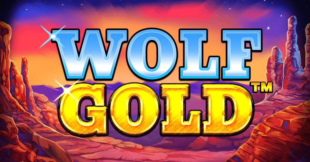 wolf gold slots game logo