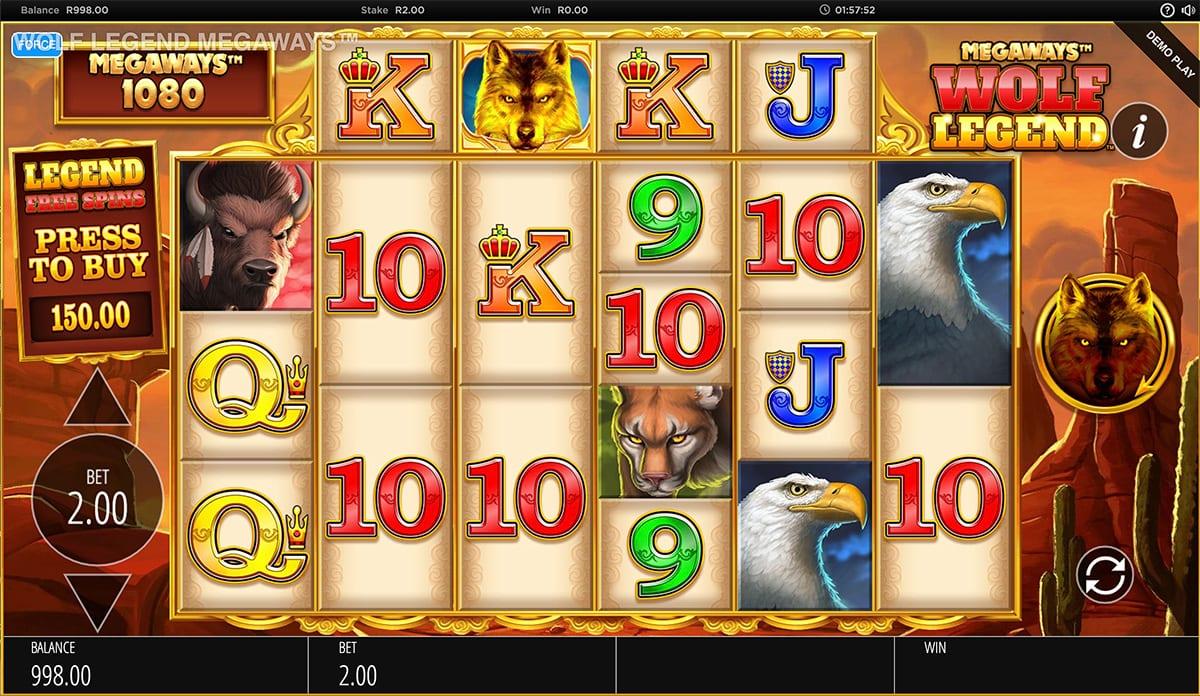 Wolf Legend Megaways Slot Game
