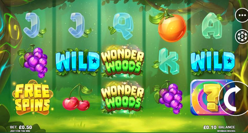 Wonder Woods Free Slots