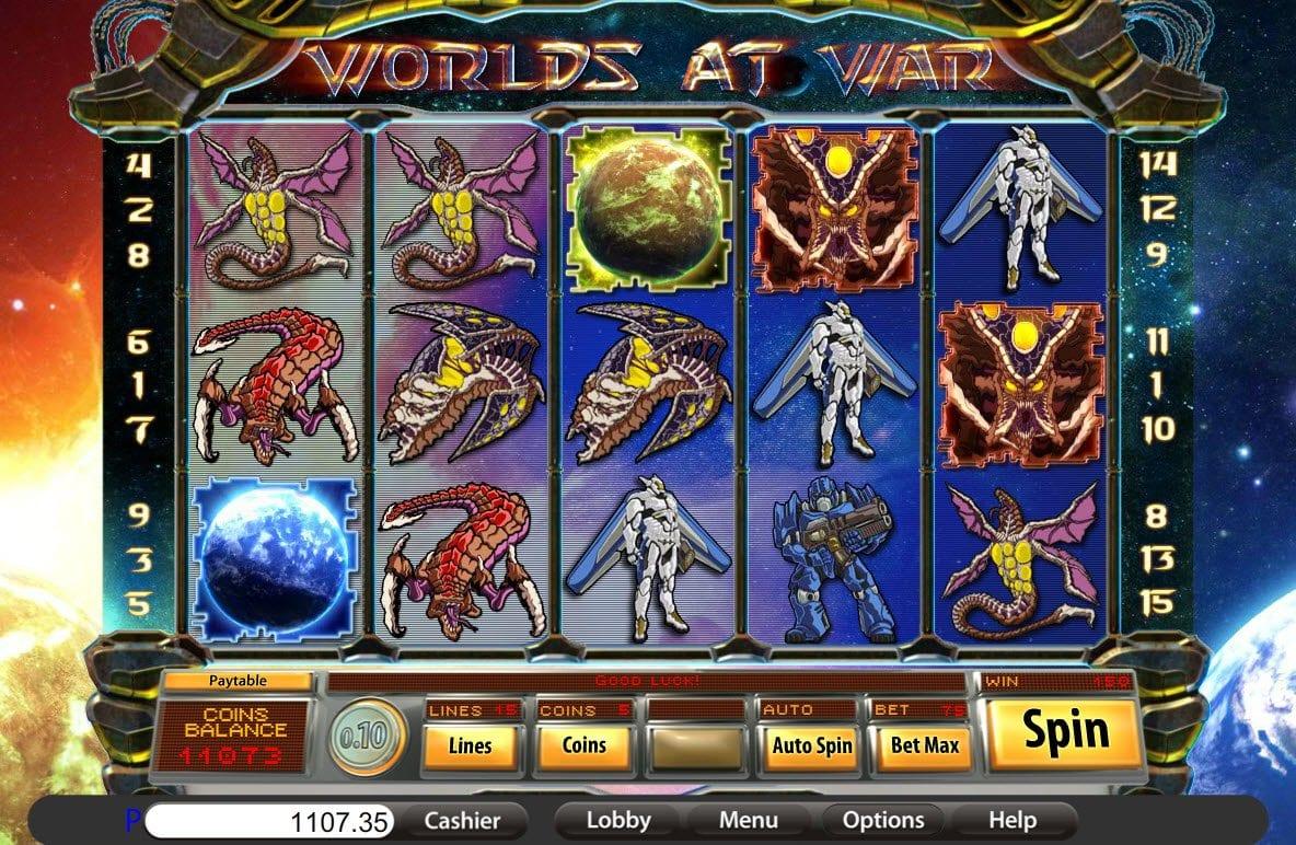 World at War Slot Game