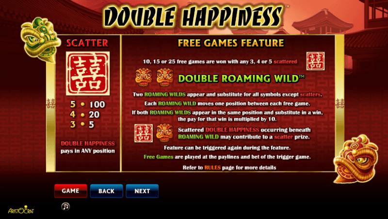 Xingyun BaoZhu Jackpot paytable
