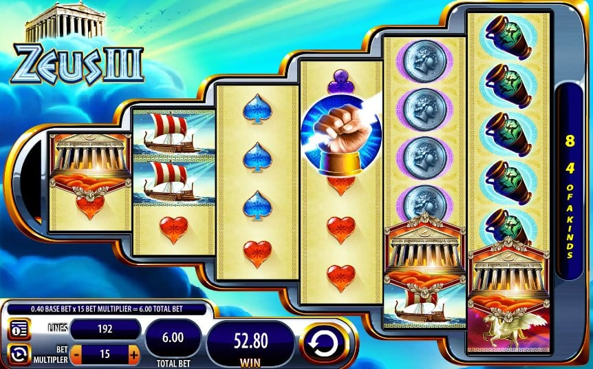 Zeus III Slot Game