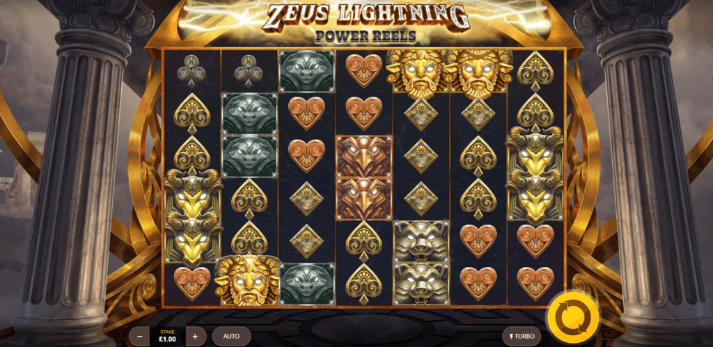 Zeus Lightning Power Reels Slot Games