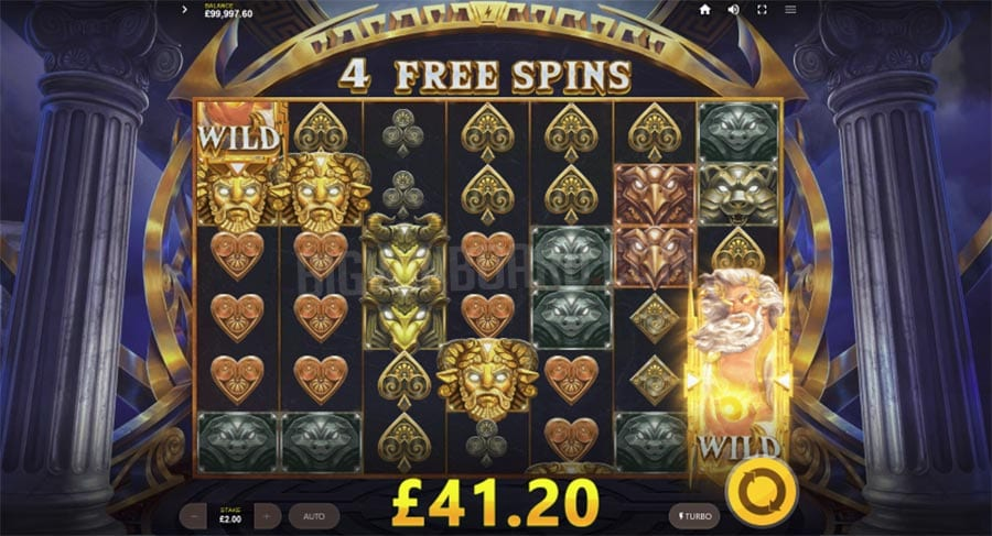 Zeus Lightning Power Reels Slots Win